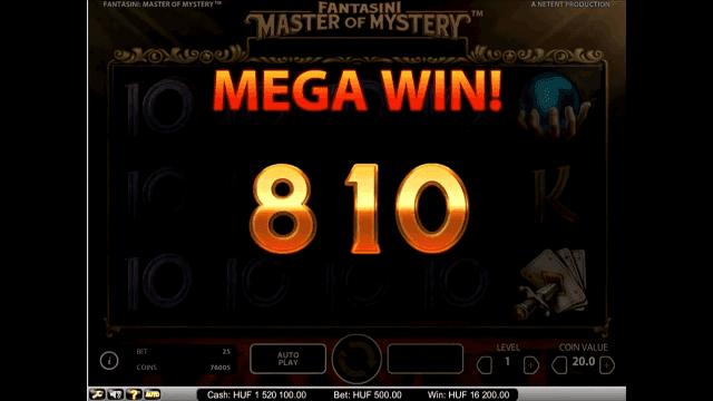 Игровой интерфейс Fantasini: Master Of Mystery 5