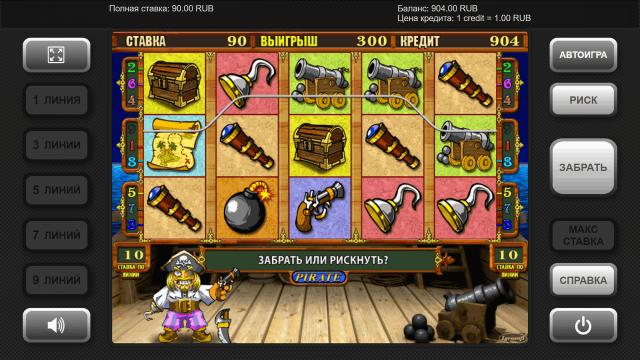 Игровой интерфейс Pirate 2
