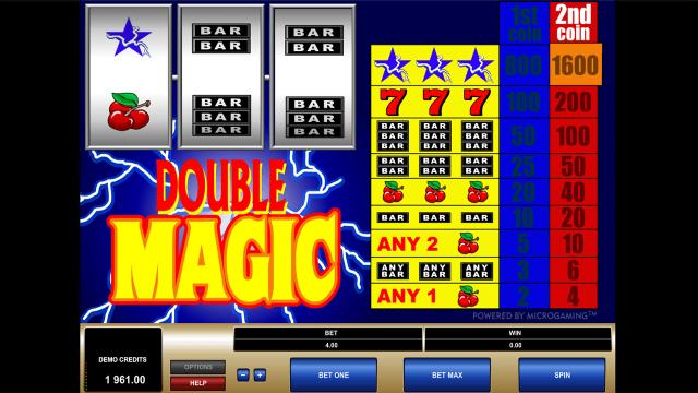 Бонусная игра Double Magic 8