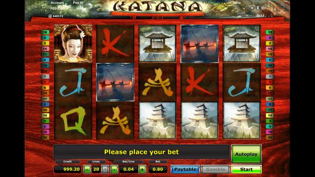 Бонусная игра Katana 2