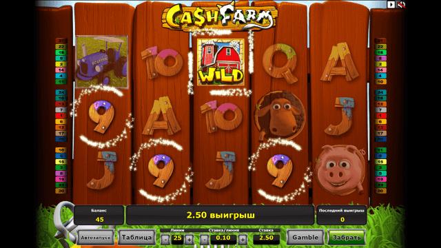 Характеристики слота Cash Farm 5