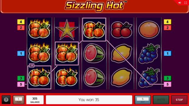 Бонусная игра Sizzling Hot 13