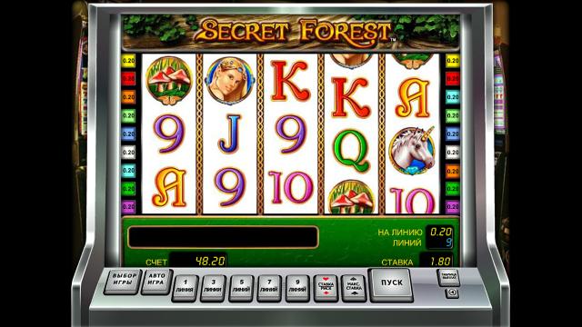 Игровой интерфейс Secret Forest 2