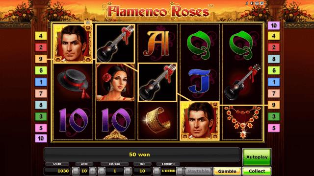 Характеристики слота Flamenco Roses 4