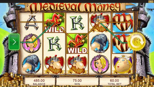 Бонусная игра Medieval Money 10