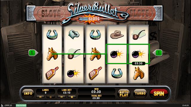 Бонусная игра Silver Bullet 1