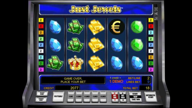 Бонусная игра Just Jewels 10