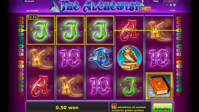 Бонусная игра The Alchemist 9