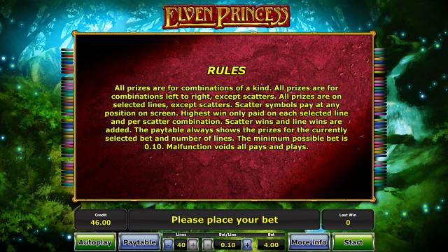 Бонусная игра Elven Princess 5