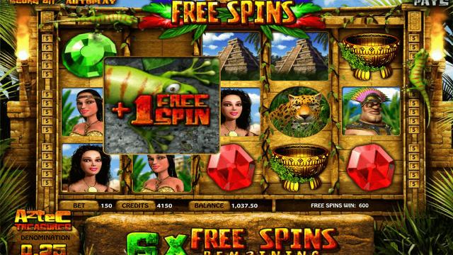 Характеристики слота Aztec Treasures 3D 4