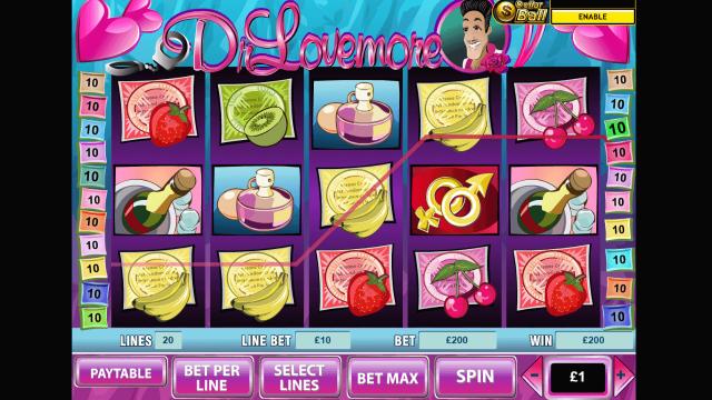 Игровой интерфейс Dr Lovemore 6