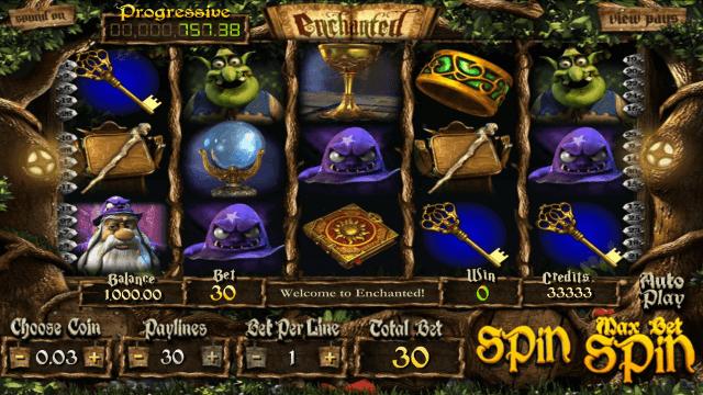Бонусная игра Enchanted 3