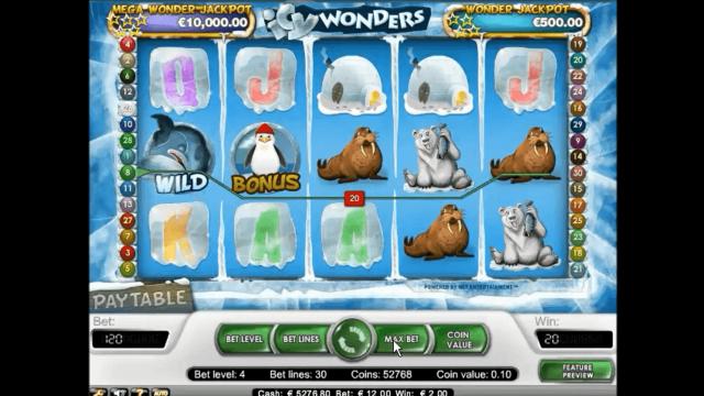 Бонусная игра Icy Wonders 8