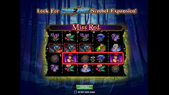 Игровой интерфейс Miss Red 1