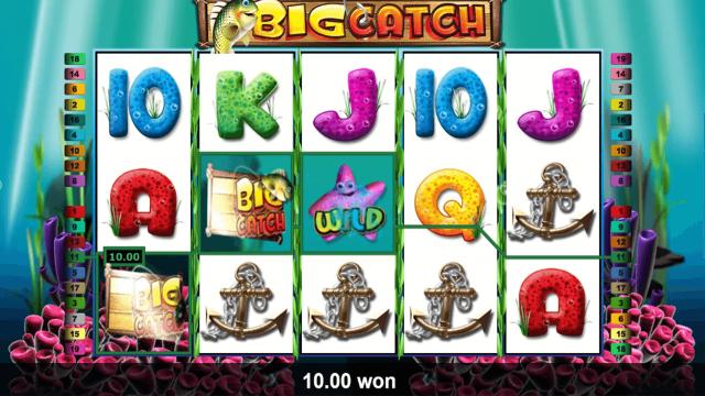 Бонусная игра Big Catch 5