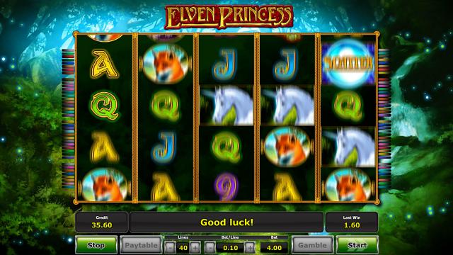 Игровой интерфейс Elven Princess 9