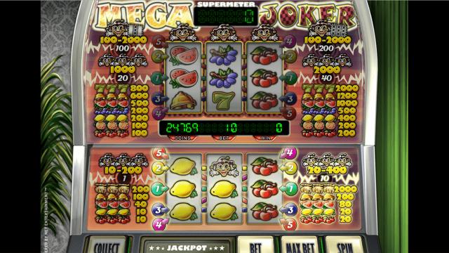 Бонусная игра Mega Joker by Netent 4
