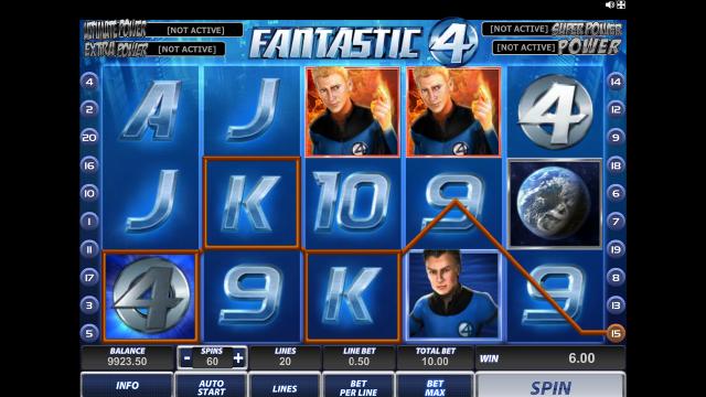 Игровой интерфейс Fantastic Four 13