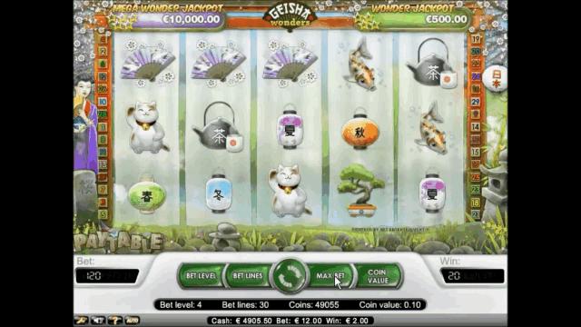 Бонусная игра Geisha Wonders 3