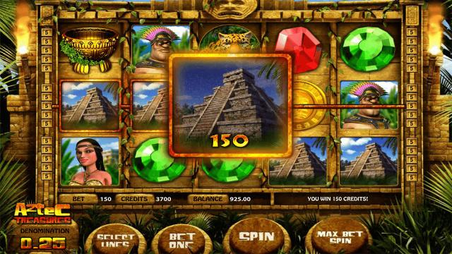 Характеристики слота Aztec Treasures 3D 2