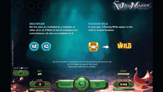 Игровой интерфейс The Wish Master 6
