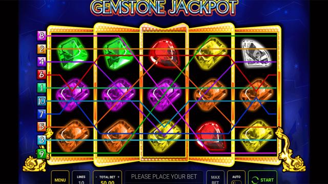 Бонусная игра Gemstone Jackpot 4