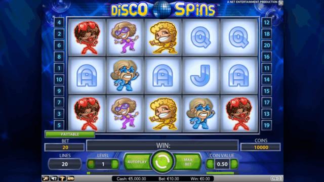 Бонусная игра Disco Spins 9