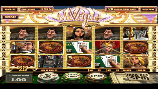 Бонусная игра Mr. Vegas 6