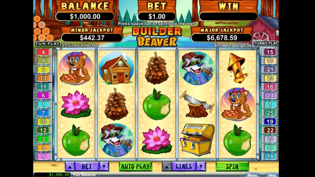 Бонусная игра Builder Beaver 10