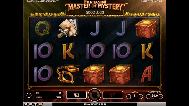 Игровой интерфейс Fantasini: Master Of Mystery 7
