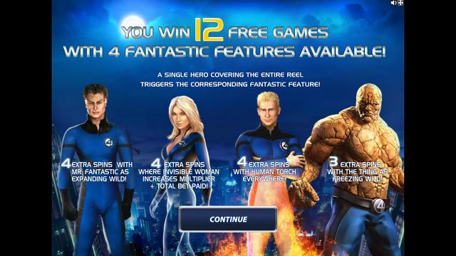 Бонусная игра Fantastic Four 16