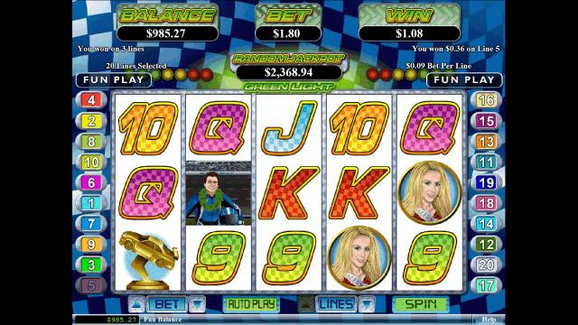 Игровой интерфейс Green Light 3