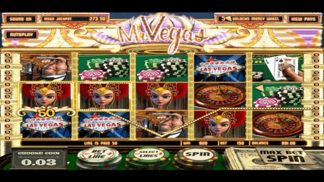 Характеристики слота Mr. Vegas 10
