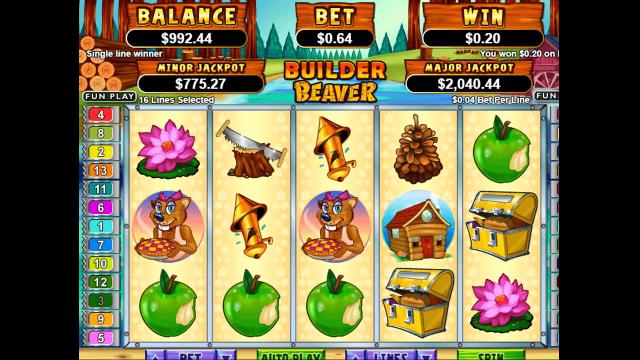 Игровой интерфейс Builder Beaver 4