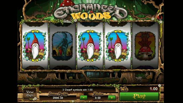Характеристики слота Enchanted Woods 5