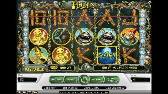 Бонусная игра Trolls 10