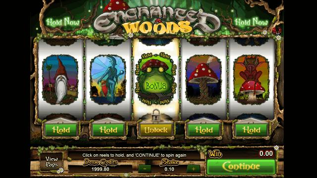 Характеристики слота Enchanted Woods 3