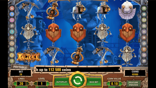 Игровой интерфейс Boom Brothers 1