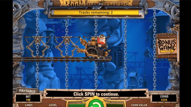 Игровой интерфейс Boom Brothers 8
