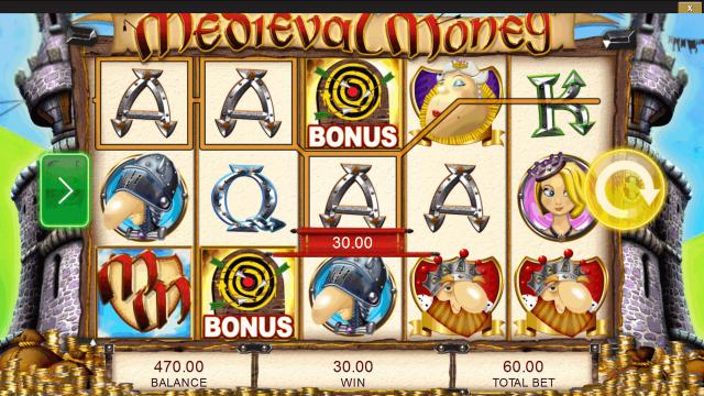Игровой интерфейс Medieval Money 9