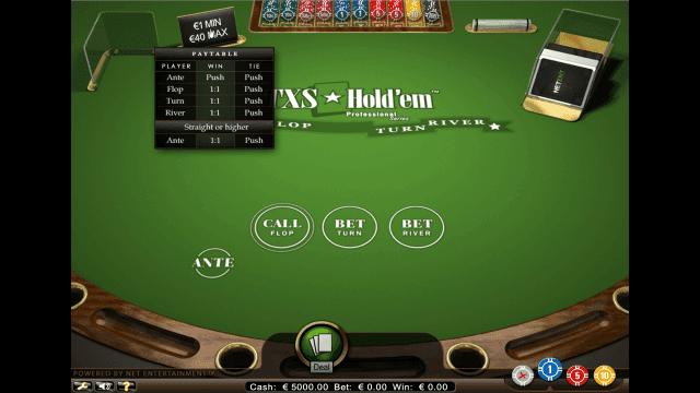 Бонусная игра TXS Hold'em Pro Series 2
