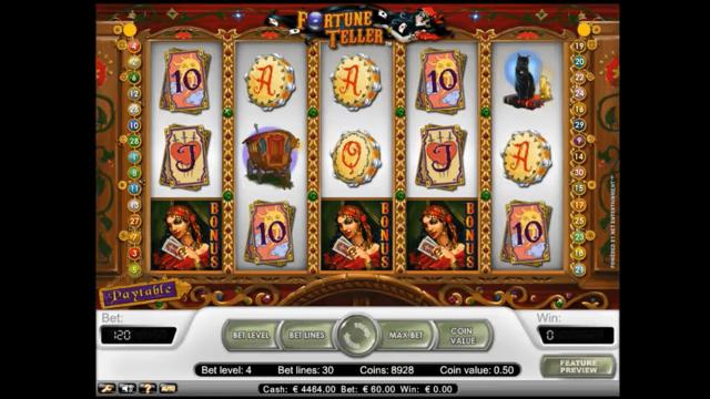 Характеристики слота Fortune Teller 5