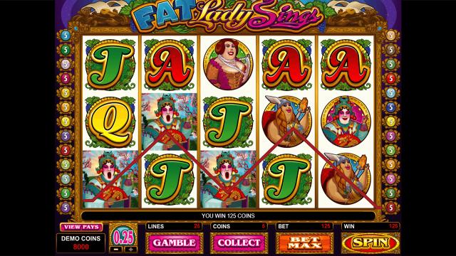 Бонусная игра Fat Lady Sings 2