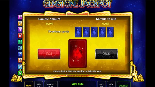 Характеристики слота Gemstone Jackpot 2
