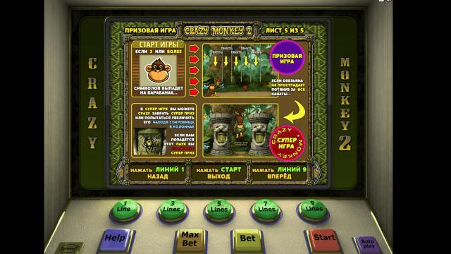 Бонусная игра Crazy Monkey 2 5