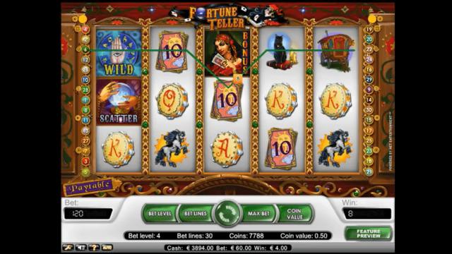 Бонусная игра Fortune Teller 10