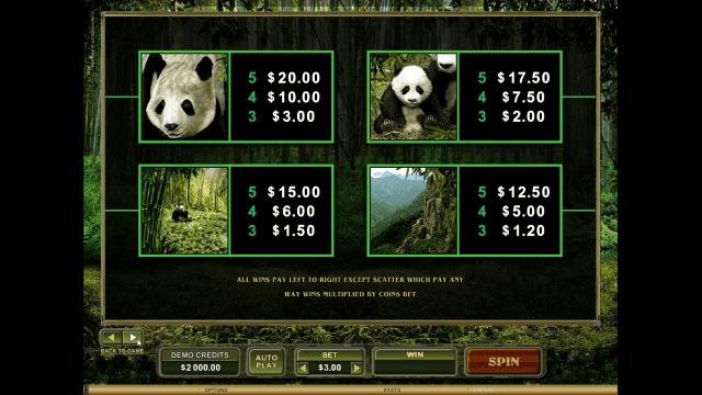 Игровой интерфейс Untamed Giant Panda 6