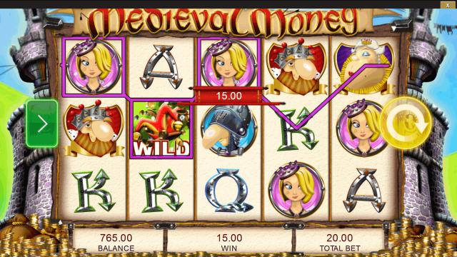 Характеристики слота Medieval Money 6