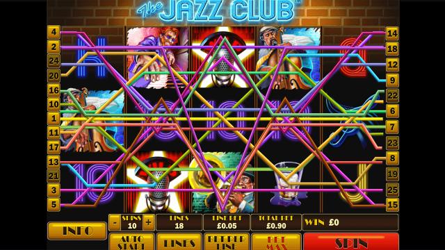 Игровой интерфейс The Jazz Club 8