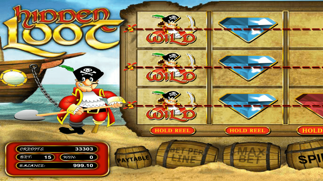 Бонусная игра Hidden Loot 4